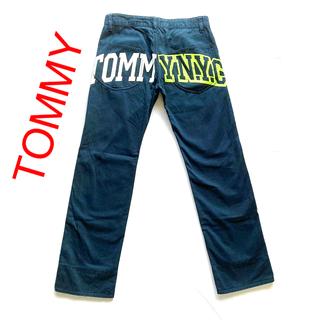 トミーヒルフィガー(TOMMY HILFIGER)のTOMMY ペイント 加工 カラーワークパンツ S(ワークパンツ/カーゴパンツ)
