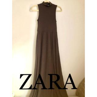 ZARA - ZARA ブラウンドレス