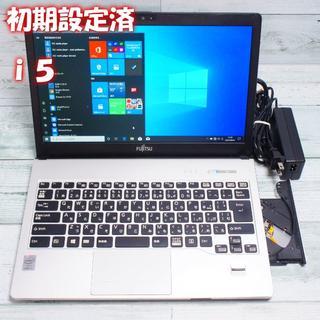 富士通 - ノートパソコン 富士通 win10 i5 6GB 500GB YB063031