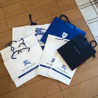 バーバリーブルーレーベル(BURBERRY BLUE LABEL)のバーバリーブルーレーベル ショップ袋まとめ(ショップ袋)