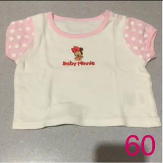 Disney - Baby  Minnie シャツ★60