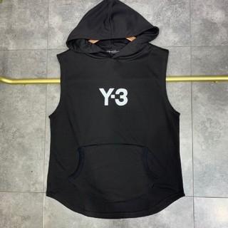Y-3 - 2020SS 新品 Y-3 フード付きベスト Tシャツ L