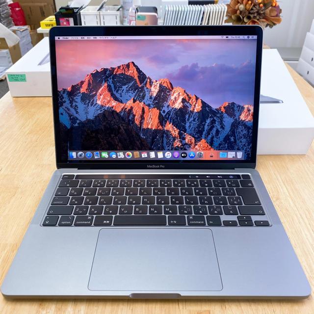 Mac (Apple)(マック)の美品 Macbook Pro 2020モデル MWP42J/A 16GB スマホ/家電/カメラのPC/タブレット(ノートPC)の商品写真