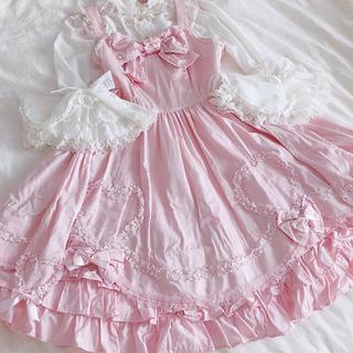 Angelic Pretty - Angelic Prettyキューティーハートジャンパースカート