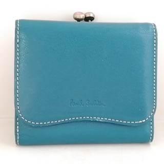 ポールスミス(Paul Smith)のポールスミス 3つ折り財布 グリーン がま口(財布)