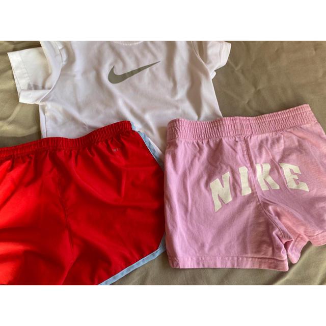 NIKE(ナイキ)のNIKE セットアップ キッズ/ベビー/マタニティのキッズ服女の子用(90cm~)(Tシャツ/カットソー)の商品写真
