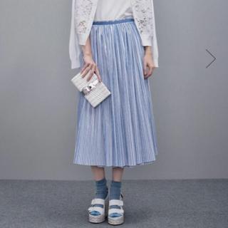 Drawer - Drawer ストライプ スカート  36サイズ