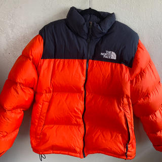 THE NORTH FACE - THE NORTH FACE パワーオレンジ ヌプシ