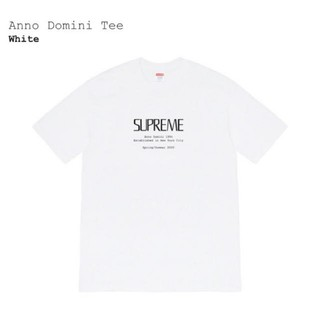Supreme - 新品20ss supreme anno domini  tee white