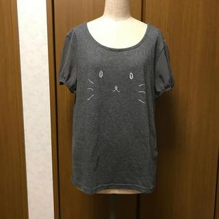 イーハイフンワールドギャラリー(E hyphen world gallery)のE hyphen world gallery☆Tシャツ★シフォンパフスリーブ♪(Tシャツ(半袖/袖なし))