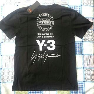 Yohji Yamamoto - Y3 adidas Yohji Yamamoto ロゴ Tシャツ