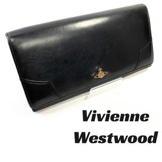 ヴィヴィアンウエストウッド(Vivienne Westwood)の【定番】ヴィヴィアンウエストウッド 長財布ブラック オーブ(長財布)