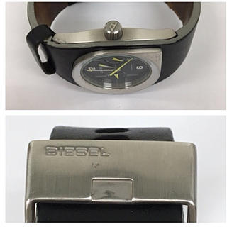 ディーゼル(DIESEL)の正規品 DIESEL ディーゼル 腕時計 送料込み (正規箱付き)(腕時計)