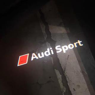 AUDI - 中古美品 Audiアウディ カーテシライト ドアエントリライト 2個
