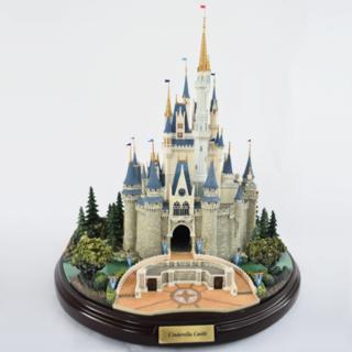Disney - ディズニー オルショウスキー シンデレラ城 ミニチュア