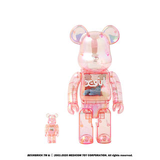 MEDICOM TOY - 15体セット)BE@RBRICK X-girl 2020 400% &100%