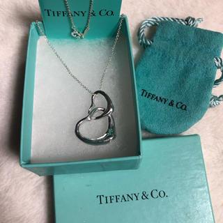 Tiffany & Co. - ティファニーダブル💖ハートネックレス