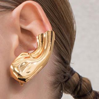 マルタンマルジェラ(Maison Martin Margiela)のイヤリング イヤーカフ ゴールド 金 金色 耳 レディース メンズ(ピアス)