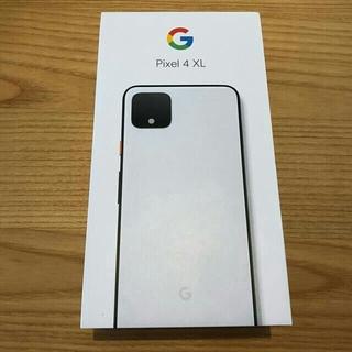 ANDROID - Google Pixel4 XL 128gb ホワイト 新品未使用SIM解除済