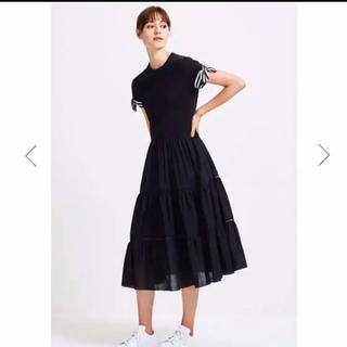 TSURU by Mariko Oikawa - BORDERS at BALCONY / BALLERINA TEE DRESS