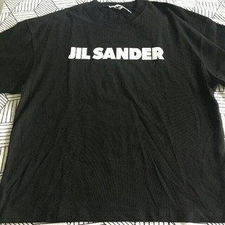 Jil Sander - JIL SANDER 19/20AW新作 コットン ロゴ Tシャツ