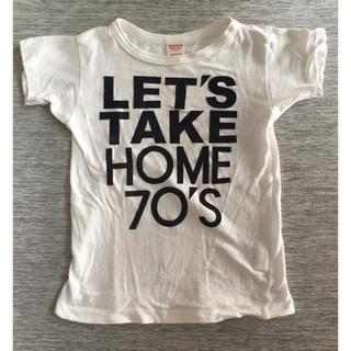 デニムダンガリー(DENIM DUNGAREE)のデニム&ダンガリー スマイル Tシャツ 130cm(Tシャツ/カットソー)
