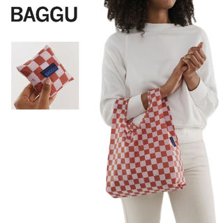 BEAMS - 新品 BABY BAGGU / ベビー【Rose Checkerboard】