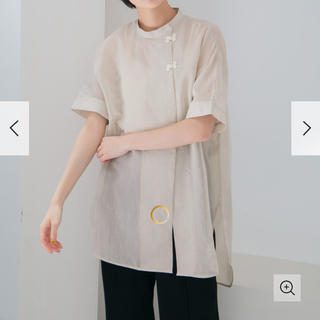 KBF - シアーストライプチャイナシャツ