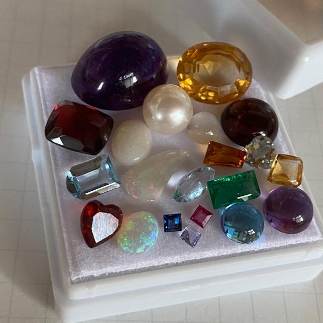 【天然石ルースセット お得ルースセット】Jewelry ルース レディースのアクセサリー(その他)の商品写真