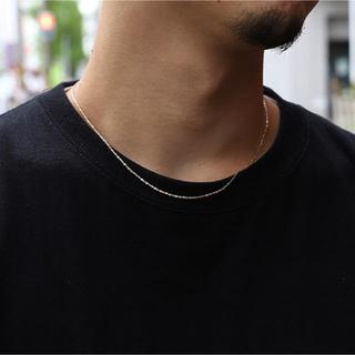 アヴァランチ(AVALANCHE)のavalanche gold ネックレス 45cm(ネックレス)