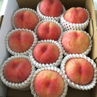 山形県産 減農薬栽培 桃(フルーツ)