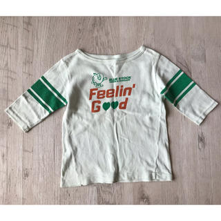 デニムダンガリー(DENIM DUNGAREE)のデニム&ダンガリー 長袖 七分袖 Tシャツ 120(Tシャツ/カットソー)