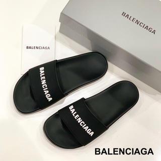 バレンシアガ(Balenciaga)のBALENCIAGA ロゴサンダル(サンダル)