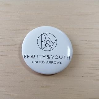 ビューティアンドユースユナイテッドアローズ(BEAUTY&YOUTH UNITED ARROWS)のBEAUTY&YOUTHUNITED ARROWSの缶バッジ(非売品)(その他)