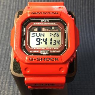 ジーショック(G-SHOCK)の値下げ!早い者勝ち‼︎G-SHOCK GLX-5600 レッド(電池交換済み)(腕時計(デジタル))