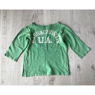 デニムダンガリー(DENIM DUNGAREE)のデニム&ダンガリー 長袖 七分袖 Tシャツ 110(Tシャツ/カットソー)