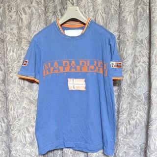 ナパピリ(NAPAPIJRI)のNAPAPIJRIレイヤード付プリントワッペンTシャツ(Tシャツ/カットソー(半袖/袖なし))