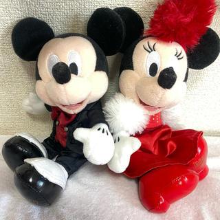Disney - ミッキー ミニー ペアぬい ビッグバンドビート