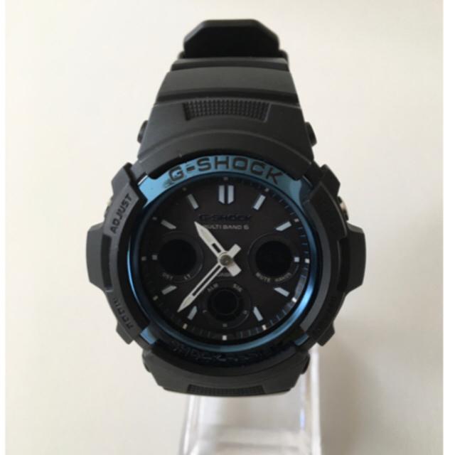 G-SHOCK(ジーショック)の美品 G-SHOCK AWG-M100A 電波ソーラーモデル メンズの時計(腕時計(デジタル))の商品写真