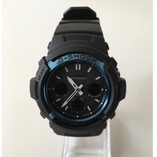 ジーショック(G-SHOCK)の美品 G-SHOCK AWG-M100A 電波ソーラーモデル(腕時計(デジタル))