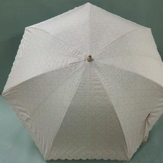 アンテプリマ(ANTEPRIMA)のアンテプリマ 日傘 ピンク×白 化学繊維(傘)