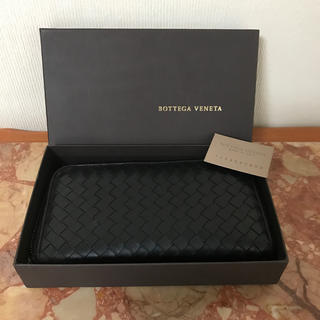 Bottega Veneta - ボッテガ 長財布 イントレチャート ラウンドファスナー