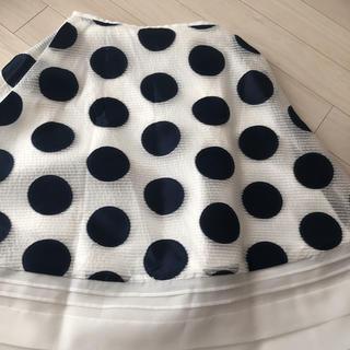 Chesty - 最終お値下げチェスティネイビードットスカート1