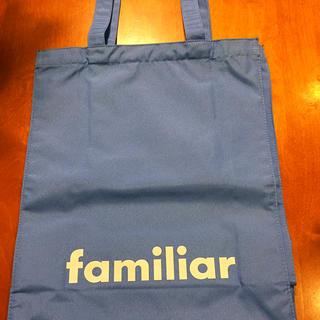 ファミリア(familiar)のファミリア 非売品 トートバッグ(未使用品)(トートバッグ)