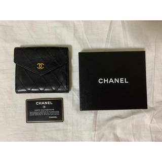 CHANEL - (美品)CHANELღ ♡シャネル 財布