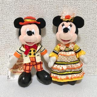 ミッキーマウス(ミッキーマウス)のミキカン ミッキー&カンパニー ミッキー ミニー ぬいば ぬいぐるみバッジ(キャラクターグッズ)