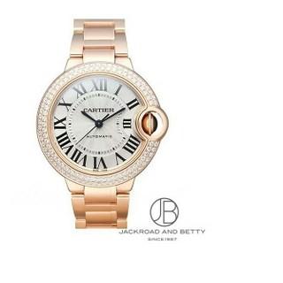 新品 時計カルティエ CARTIER バロンブルー 33mm  レディース腕時計