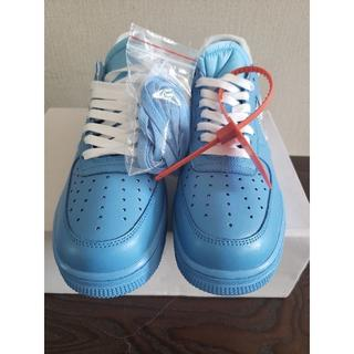 OFF-WHITE - Nike OFF WHITE Air Force 1 MCA Blue 26