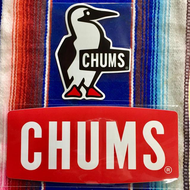 CHUMS(チャムス)の新品 CHUMS Sticker 2枚セット チャムス ステッカー g スポーツ/アウトドアのスポーツ/アウトドア その他(その他)の商品写真
