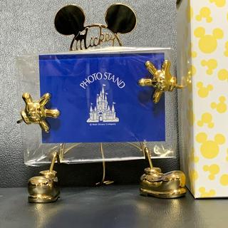 Disney - ミッキー フォトフレーム ゴールド
